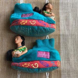 Vtg 90's original Pocahontas Slippers